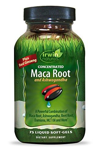 Irwin Naturals Maca Root and Ashwagandha, 75 Count