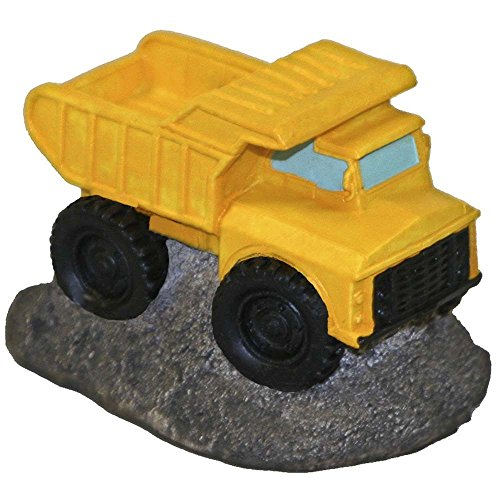 Vehicle Dump Truck Yellow Ornament By Blue Ribbon by ()