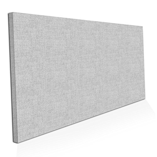 """ADW Acoustic Panels 48"""" X 24"""" X 2"""" Rectangle – Quick Easy DIY Install – See Our Many Color Choices Diffuser Bounce Panels"""