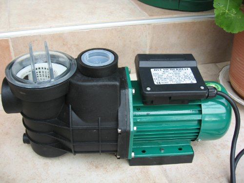 Leis Poolpumpe 12 m³ Pumpenleistung Filterpumpe Schwimmbadpumpe Pumpe Pool Schwimmbad
