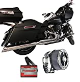 2017 Harley Touring Package D&D M8 Billet Cat Dynojet PCV 15-042 & CSR Intake