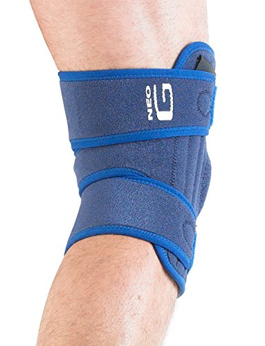 Neo G Knee Brace, Stabilized Open Patella - Support For Arthritis, Joint Pain, Meniscus Tear, ACL, Running, Basketball, Skiing – Adjustable Compression – Class 1 Medical Device – One Size – Blue by Neo-G (Image #4)