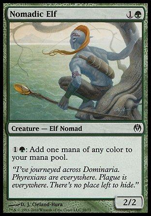 Magic: the Gathering - Nomadic Elf - Duel Decks: Phyrexia vs The - Nomadic Elf