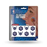 NBA Charlotte Hornets Face Tattoos, 8-Piece Set