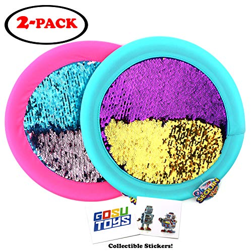 Glitter Disc - Soft Sequin Frisbee 12