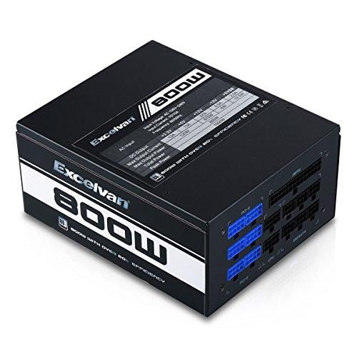 Excelvan ATX Computer Power Supply Desktop PC for Intel AMD PC SATA US (800W) by Excelvan (Image #2)