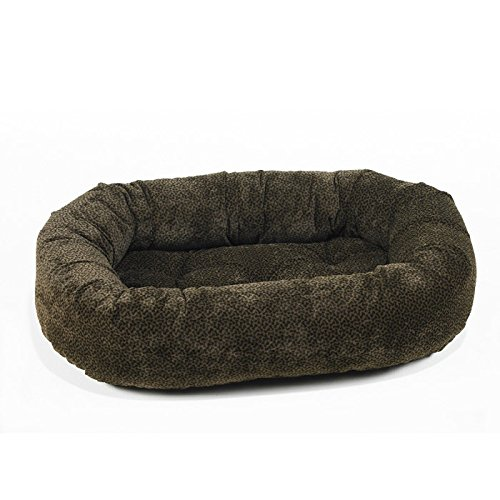 Bowsers Donut Bed, XX-Large, Chocolate Bones
