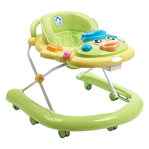 WU ZHI Andador para Bebés 6-18 Meses Antivuelco Altura Ajustable ...