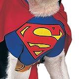 Rubies DC Comics Pet Costume, Superman, Large