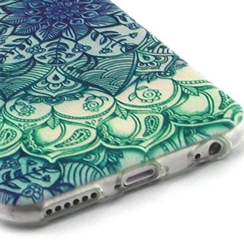 Fashion Coque pour Apple iphone 6/6s (4.7 pouces), Crystal Housse en Soft TPU Gel Silicone pour iphone 6s, iphone 6 Flexible Souple Cas Back Case Cover de Protection, Ultra Slim Créatif Dessin Couleur