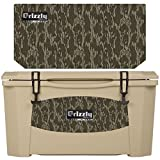 Grizzly Coolers 60 Quart Rotomolded Cooler, Tan Mossy Oak Bottomland