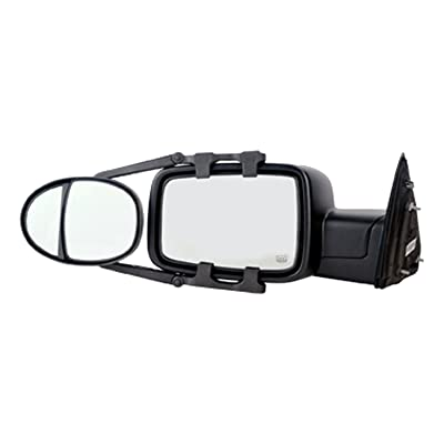 "Fit System (3990) Dual Lens Universal Towing Mirror with Ratchet Mount System, Pair, 5""x 7"": Automotive"