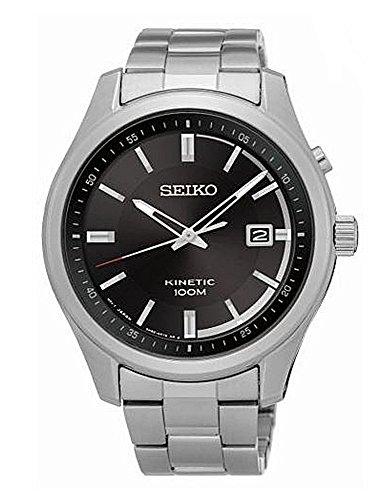 SEIKO Silver Stainless steel Watch-SKA719P1