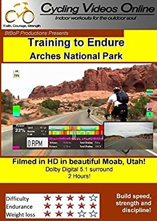 Training to Endure! Arches National Park, Moab Utah. DVD EDITION. Indoor Cycling Training / Spinning Fitness and Workout Videos by Paul Gallas: Amazon.es: Paul Gallas, Adam Zimmerman: Cine y Series TV
