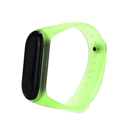 Reloj Xiaomi Band 3, Zolimx Transparente Claro Suave ...