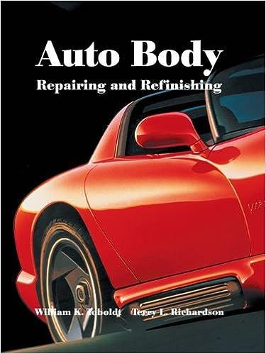 Auto Body Repairing and Refinishing: William K  Toboldt