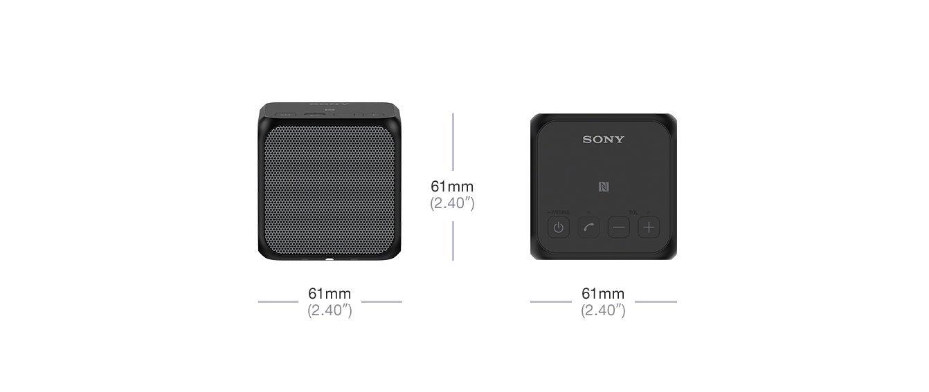 Altavoz inalámbrico portátil compacto de 10W (Bluetooth/NFC) por solo 42,63€