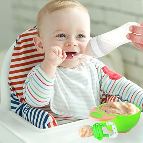 Pom Perfect Baby Food Feeding Set Squeeze Dispensing