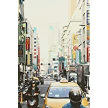 Narrow Street in Taipei, Taiwan Journal: Take Notes, Write Down Memories in this 150 Page Lined Journal