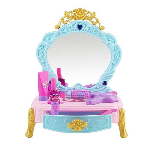 Juego De Tocador Juego De Mesa De Tocador For Niñas Fantasy Toy ...
