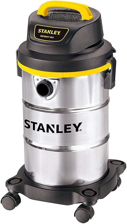 Stanley SL18130 5-Gallon 4.5 Peak Portable Stainless Steel Series Horsepower Wet/Dry Vacuum Cleaner by Stanley: Amazon.es: Bricolaje y herramientas