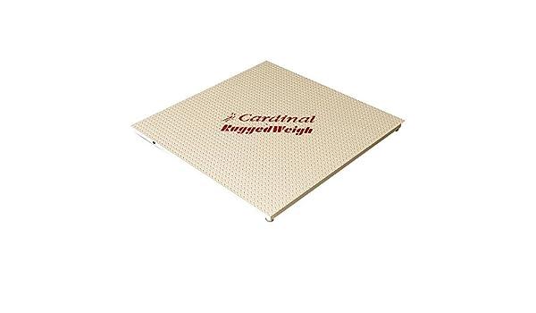 Cardinal Detecto fh-544 F-180 5000 LB. La recepción de escala con 180 Indicador, Legal Para El Comercio - 48
