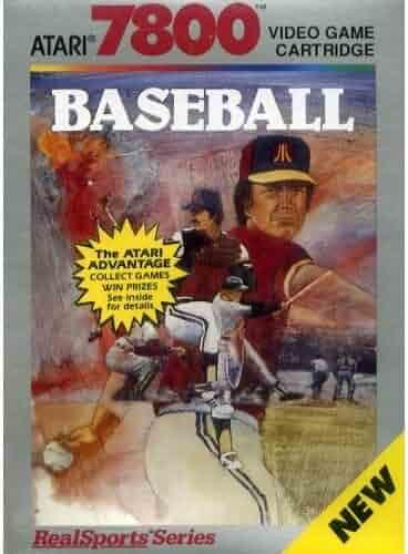 Realsports Baseball (Atari 7800)