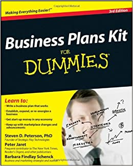 Amazon business plans kit for dummies 9780470438541 steven amazon business plans kit for dummies 9780470438541 steven d peterson peter e jaret barbara findlay schenck books fandeluxe Image collections