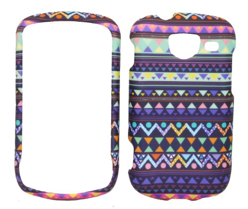 Stylish Tribal Design Rubberized Snap-on Protective Cover Case - Samsung Brightside Covers