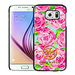 Fashionable And Beautiful Designed Case For Samsung Galaxy S6 With Tory Burch 47 Black Phone Case