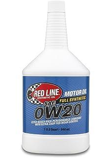 Redline Oil 11824 0W20 Synthetic Motor Oil 1 qt Case of 12