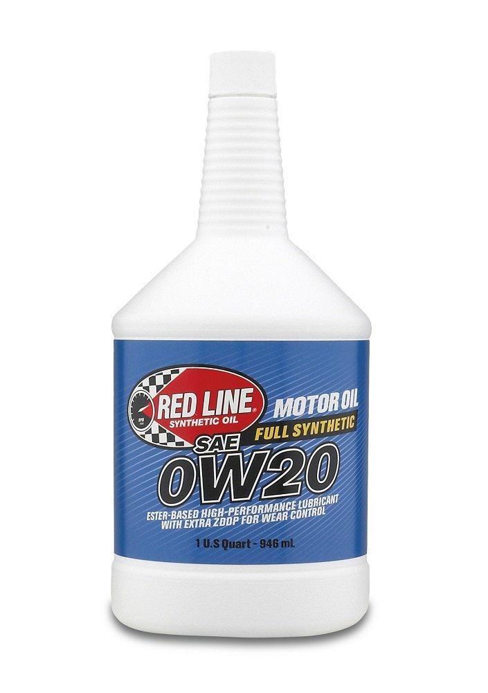 朱書きオイル0 W20合成モーターオイル1 Qt 12ケースP / N 11824 B01M8I7GGI