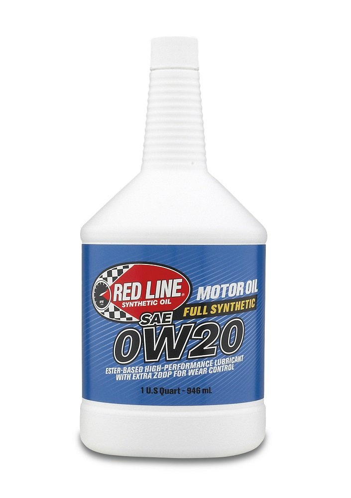 Red Line 11824 0W20 Motor Oil - 12/1  Quart by Red Line Oil