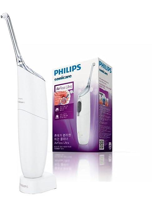 89 opinioni per Philips Sonicare AirFloss Ultra HX8331/01- Sistema di Pulizia interdentale