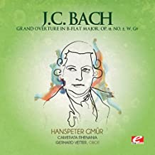 J.C. Bach: Grand Overture in B-Flat Major, Op. 18, No. 2, W. G9 (Digitally Remastered)