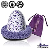 """Nest For Hatchimals Accessories - EggHead Bed Nesting 6.5"""" Fleece Egg Accessory Holder- For Use With All Hatchimals Eggs CollEGGtibles - Purple"""