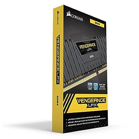 2x16Go Blanc DDR4 3000MHz C15 XMP 2.0 Kit de M/émoire Haute Performance Corsair Vengeance LPX 32Go