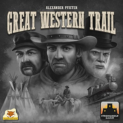 Great Western Trail Board Game by Stronghold Games