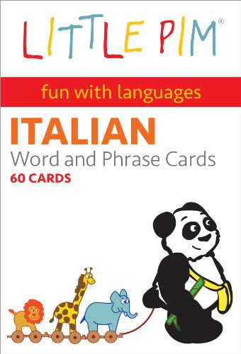 Little Pim Italian Word and Phrase Cards (My Fun Day) (Italian Edition)