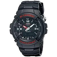Casio - G100-1BV G-Shock, reloj clásico Ana-Digi para hombre