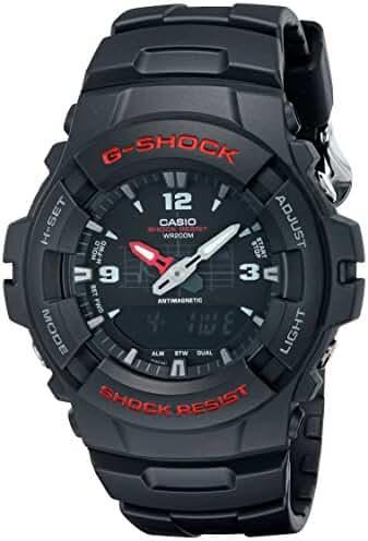 G-Shock G100-BV Men's Black Resin Sport Watch