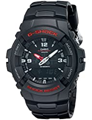 G-Shock G100-1BV Mens Black Resin Sport Watch