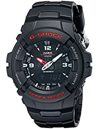 Men's G-Shock G100-1BV Black Resin Sport Watch
