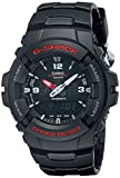 Casio Men's G-Shock G100-1BV Black Resin Sport Watch