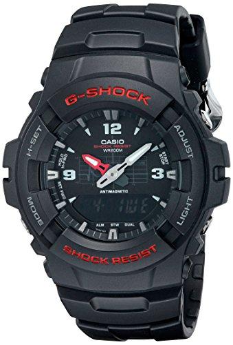 G-Shock G100-1BV Men's Black Resin Sport Watch