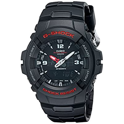 G-Shock-G100-1BV-Mens-Black-Resin-Sport-Watch