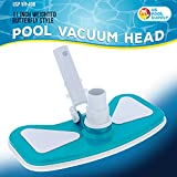 """U.S. Pool Supply 11"""" Weighted Butterfly Pool Vacuum"""