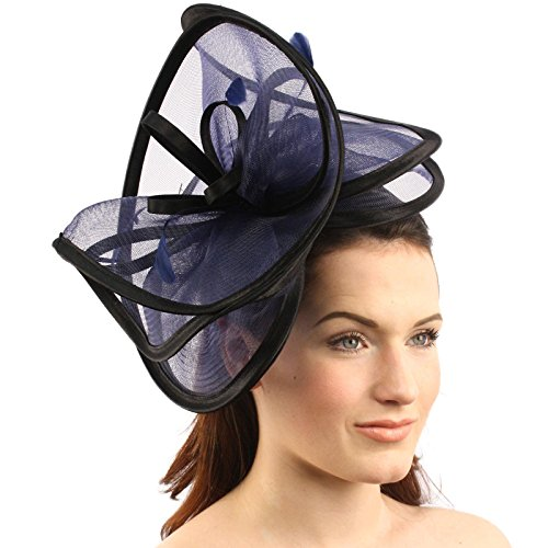 SK Hat shop Feathers 3 Tier Layer 2 Tone Headband Fascinator millinery  Cocktail Hat - Buy Online in Oman.  c9d16d373261