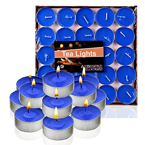 Tea lights Candles,G2PLAY Set of 50 Scented candle for Home,