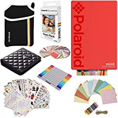 b>So cool. So fresh. It has to be Mint! Everyone loves their instant print cameras, but sometimes your smartphone captures just as much of the action! Now, with the new Polaroid Mint Pocket Printer, you gain a charming companion capable of...